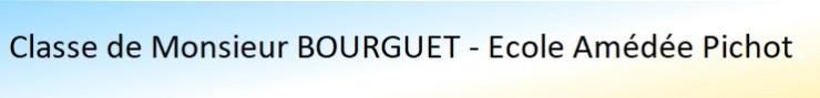 Bandeau BOURGUET